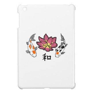 LOTUS APPLIQUE PEACE CASE FOR THE iPad MINI