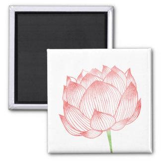 Lotus Art Magnet