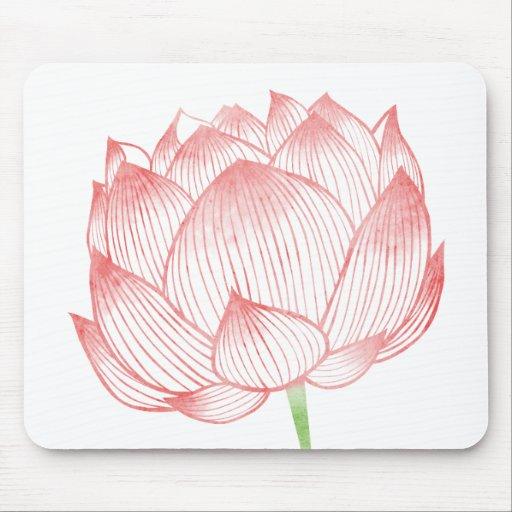 Lotus Art Mousepad