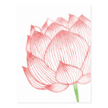 Lotus Art Postcard