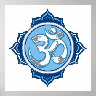 Lotus azul OM Impresiones