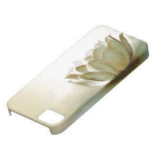 Lotus blanco iPhone 5 carcasa