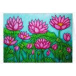 Lotus Bliss Garden Greeting Greeting Card
