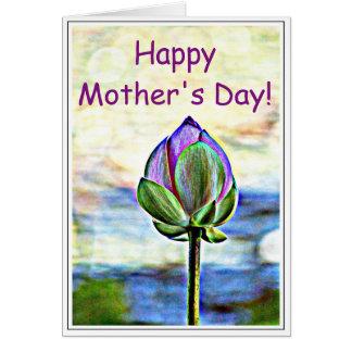 Lotus Bloom Card