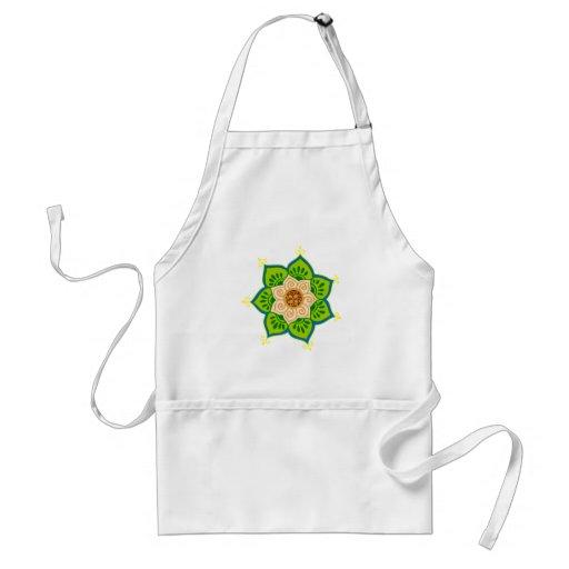 Lotus bloom lotus blossom adult apron