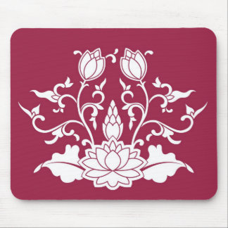 Lotus Bloom Mouse Pad
