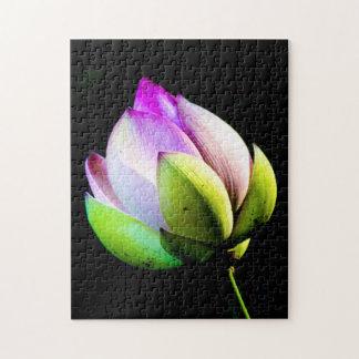 Lotus Bloom Jigsaw Puzzles