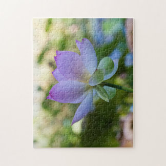 Lotus Bloom Jigsaw Puzzle
