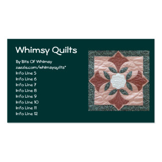 Lotus Blossom Double-Sided Standard Business Cards (Pack Of 100)