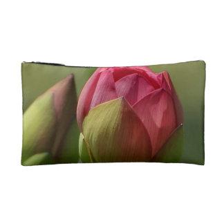 Lotus Blossom Cosmetic Bag