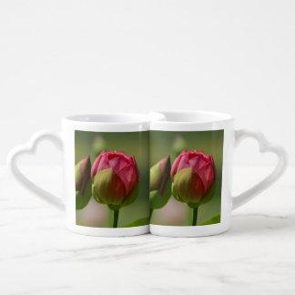 Lotus Blossom Couples Coffee Mug