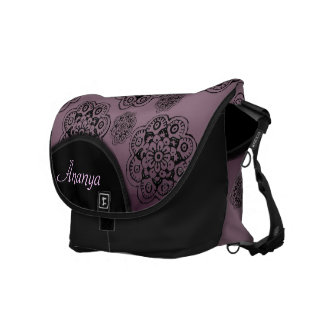 Lotus Blossom (Henna) Courier Bag