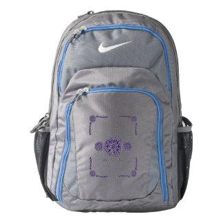 Lotus Blossom (Henna) (Purple) Backpack