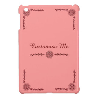 Lotus Blossom (Henna)(Red) Case For The iPad Mini