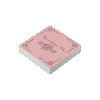 Lotus Blossom (Henna)(Red) Stone Magnet