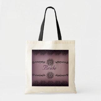 Lotus Blossom (Henna) Tote Bag