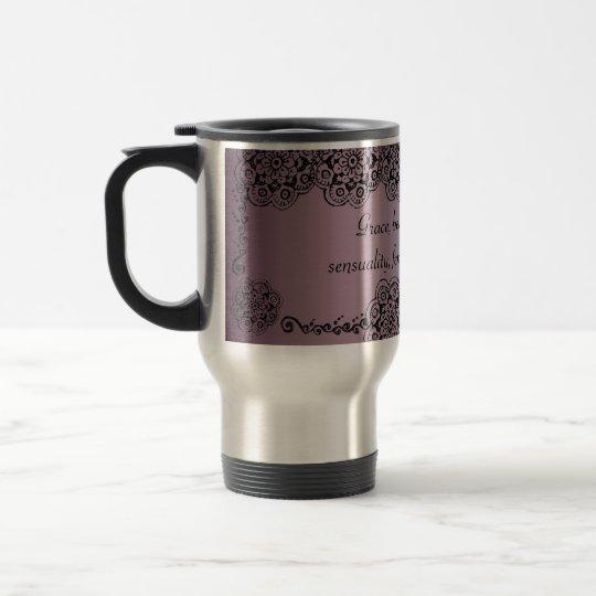 Lotus Blossom (Henna) Travel Mug