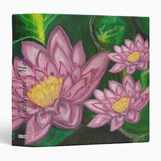 Lotus Blossom (Lily Pad) Binder