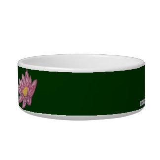 Lotus Blossom (Lily Pad) Cat Water Bowls