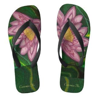 Lotus Blossom (Lily Pad) Flip Flops