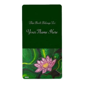 Lotus Blossom (Lily Pad) Label