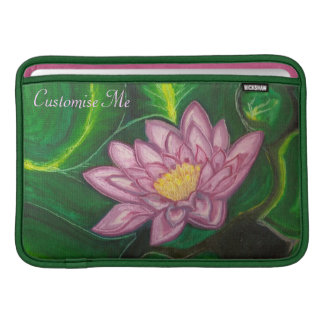 Lotus Blossom (Lily Pad) MacBook Sleeves