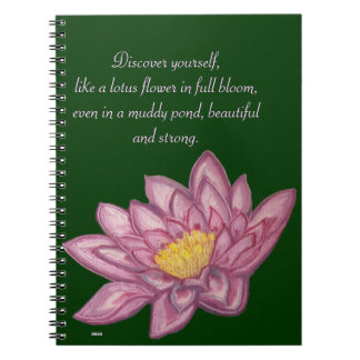 Lotus Blossom (Lily Pad) Notebook