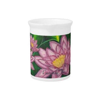 Lotus Blossom (Lily Pad) Pitchers