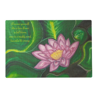Lotus Blossom (Lily Pad) Placemat