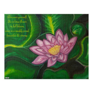 Lotus Blossom (Lily Pad) Posters