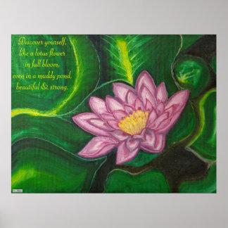 Lotus Blossom (Lily Pad) Poster
