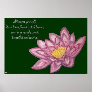 Lotus Blossom (Lily Pad) Print