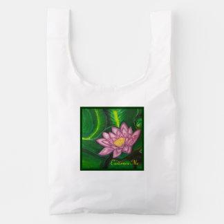 Lotus Blossom (Lily Pad) Reusable Bag
