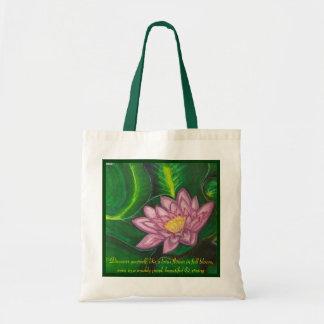 Lotus Blossom (Lily Pad) Tote Bag