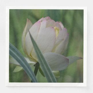 Lotus Blossom Paper Dinner Napkin