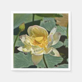 Lotus Blossom Paper Napkin