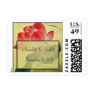 Lotus Blossom Small Wedding Postage