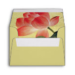 Lotus Blossom Wedding Envelope A2