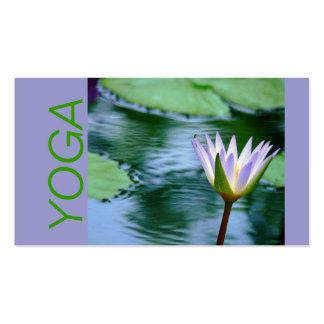 LOTUS BLOSSOM YOGA INSTRUCTION BUSINESS CARD (PHOT