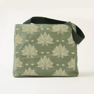 Lotus Blossoms flowers Tote