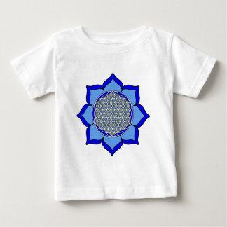 Lotus Blue5 Baby T-Shirt