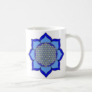 Lotus Blue5 Coffee Mug