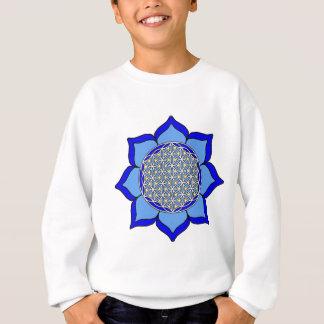 Lotus Blue5 Sweatshirt