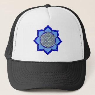 Lotus Blue5 Trucker Hat