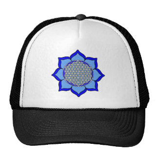 Lotus Blue5 Trucker Hat