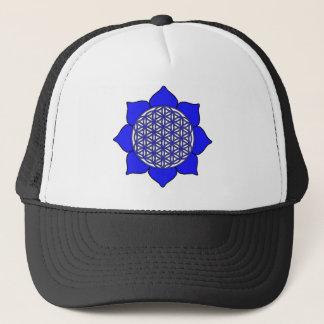 Lotus Blue9 Trucker Hat