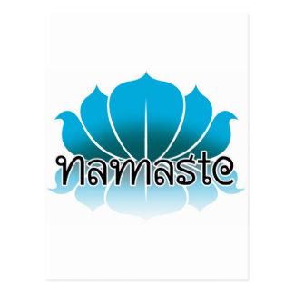 Lotus Blue Postcard