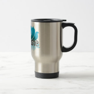 Lotus Blue Travel Mug