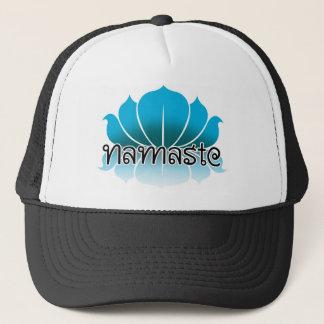 Lotus Blue Trucker Hat