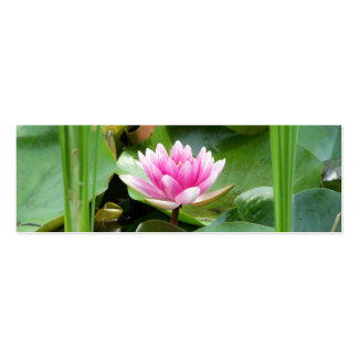 Lotus Bookmark Double-Sided Mini Business Cards (Pack Of 20)